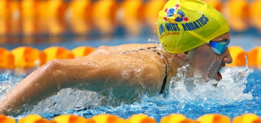 Manawatu swimmer breaks record to win Australian title